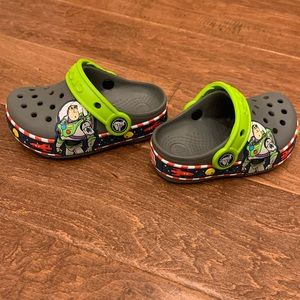 Buzz Lightyear light up Crocs